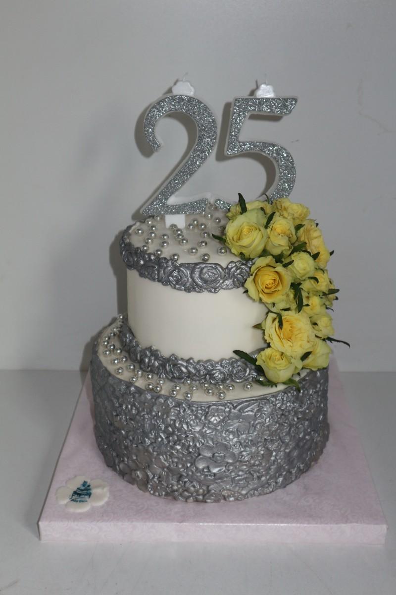 Tort Pentru Nunta De Argint Ispite Dulci